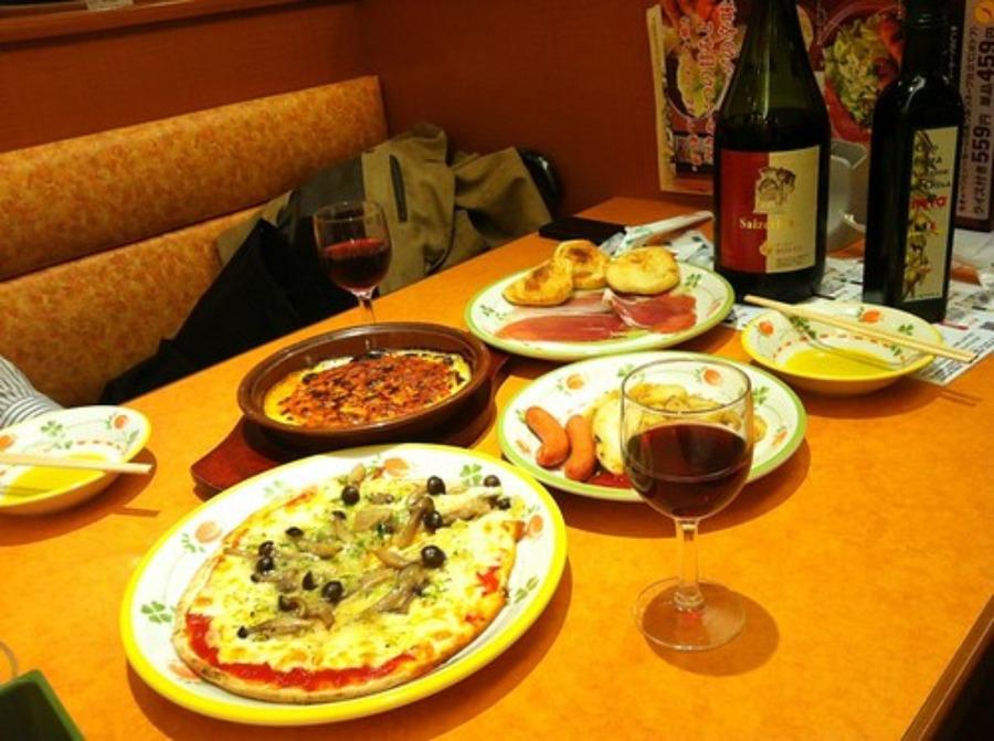 サイゼリアメニューのカロリー表一覧!ミラノ風ドリアやサラダなどを紹介