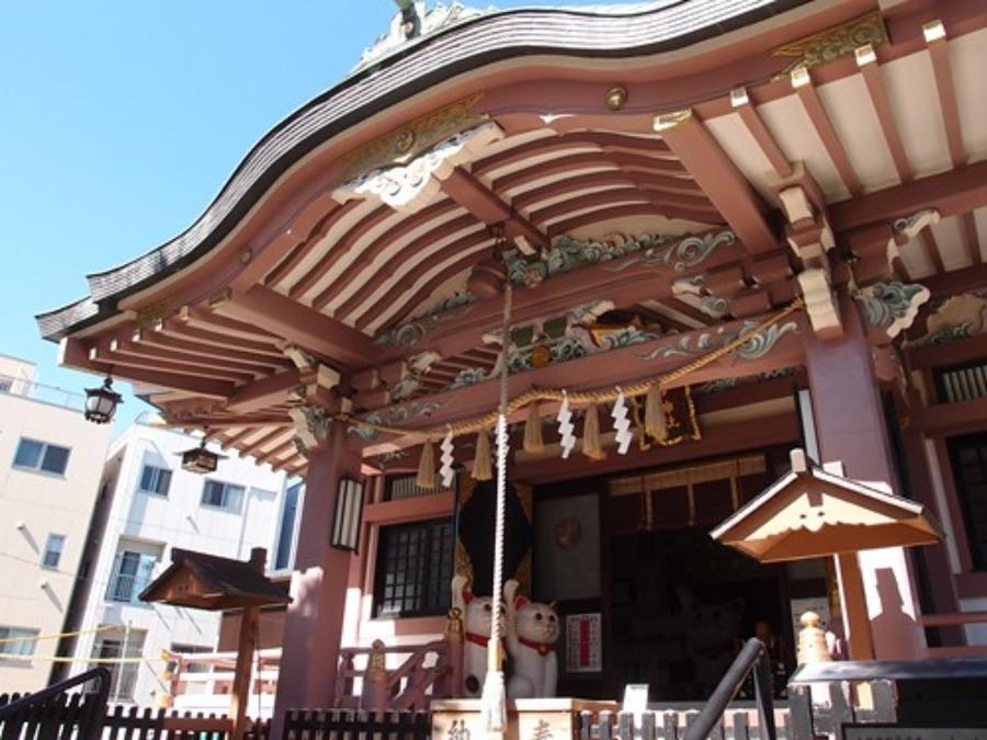 今戸神社のご利益は縁結び!招き猫やお守り•御朱印の情報を紹介