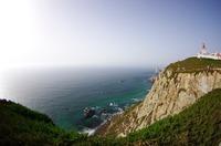 ロカ岬(ポルトガル)はユーラシア大陸最西端!ここに地果て海始まる場所