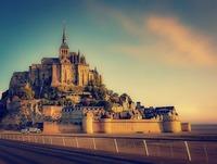 モンサンミシェルはフランス世界遺産の美しい修道院!歴史や観光情報を紹介