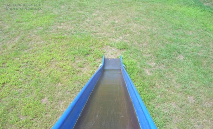 七塚中央公園は石川県かほく市の海が見える・長い滑り台がある公園