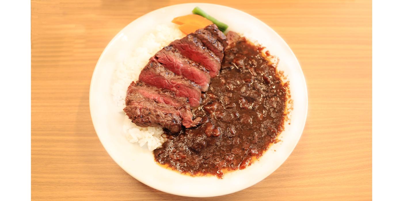 清柳食産 おにくやさん(カレーライス、肉料理)