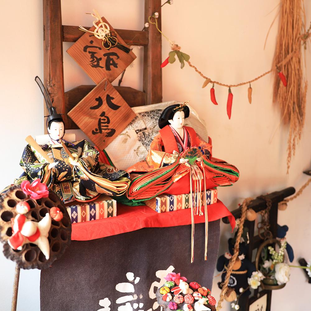 柳川雛祭さげもんめぐり「古民家 北島」