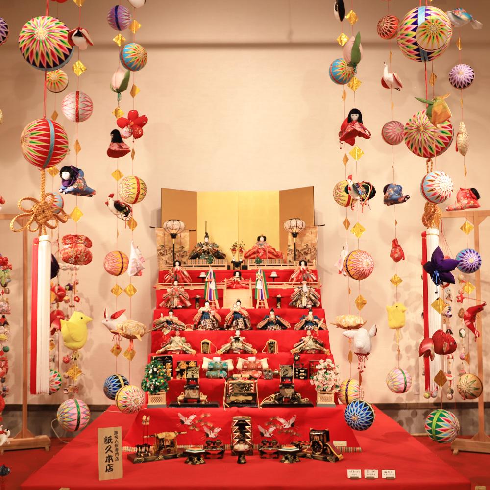 柳川雛祭さげもんめぐり「よかもん館」