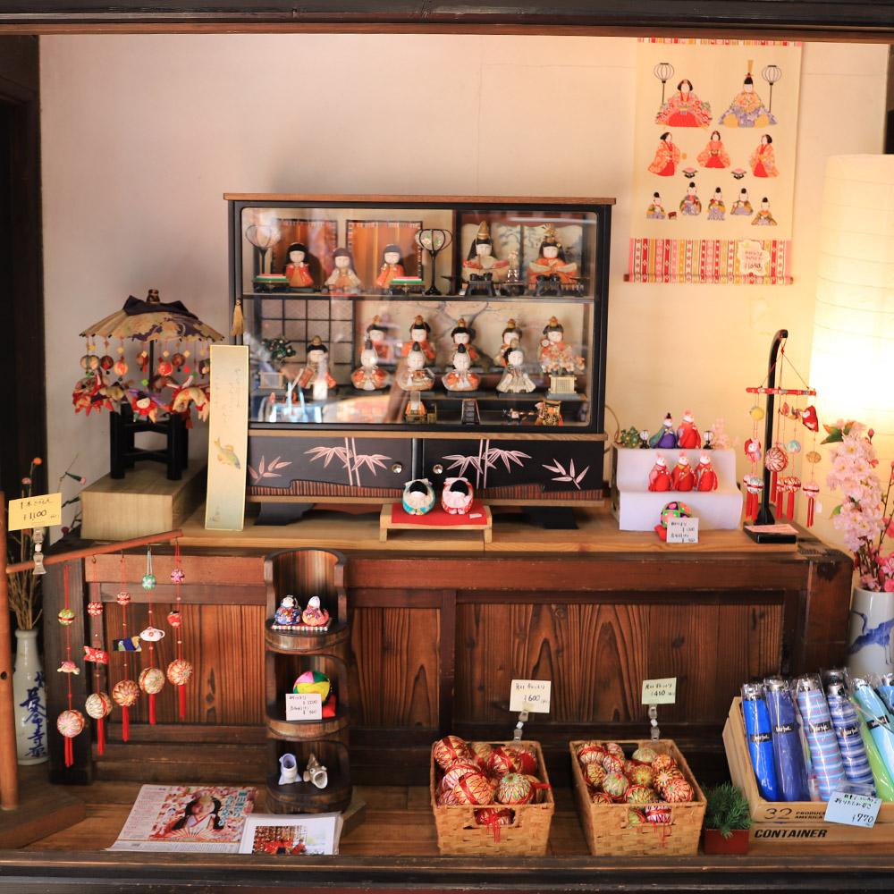 柳川雛祭さげもんめぐり「モリヤマ民芸店」