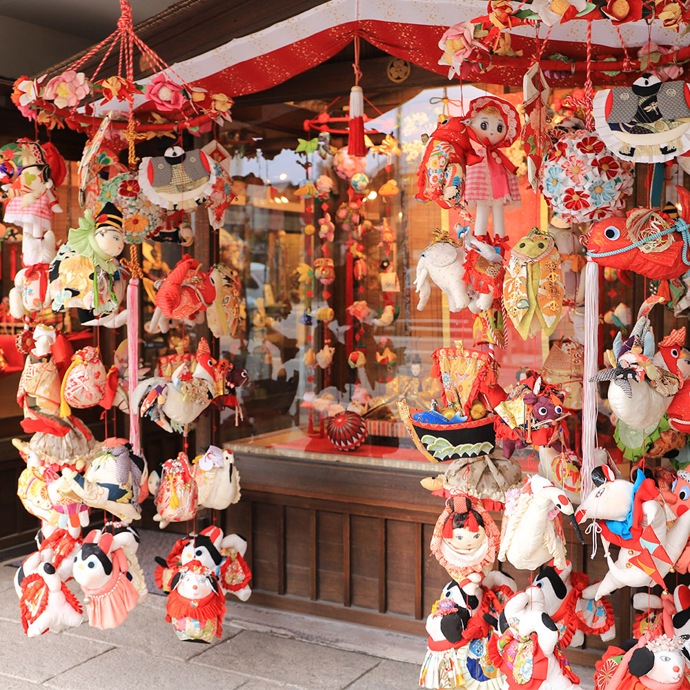 柳川雛祭さげもんめぐり「紙久本店」
