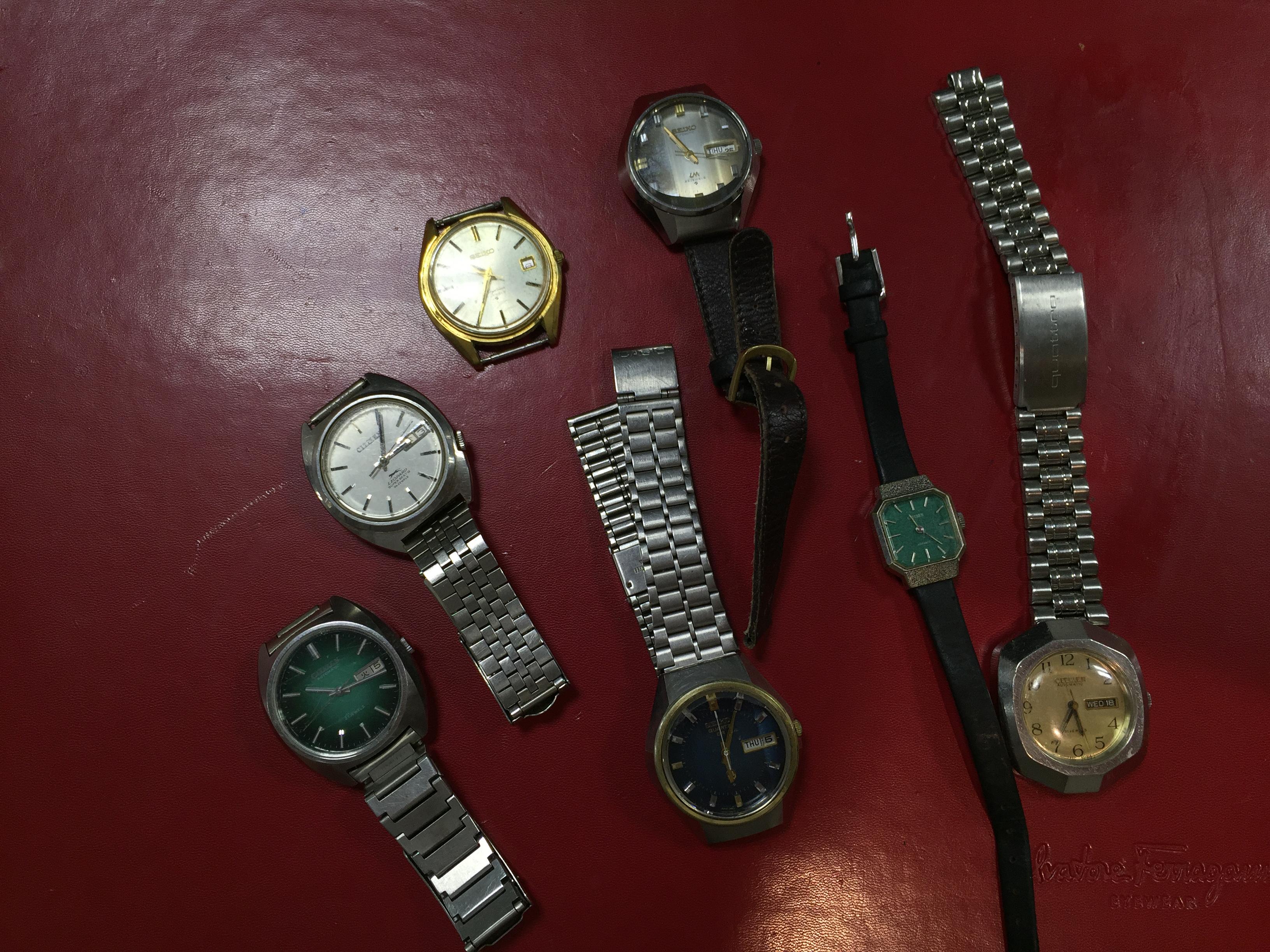 quality design 08ad8 34352 シチズン CITIZEN セイコー SEIKO 計7本   時計の高価買取・無料 ...