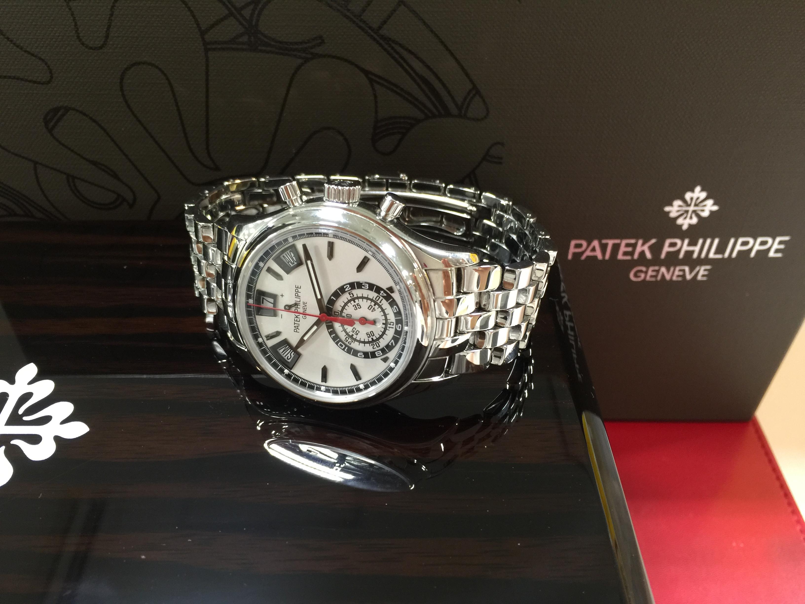 timeless design caa36 8bfec パテック フィリップ PATEK PHILIPPE 年次カレンダー・クロノ ...