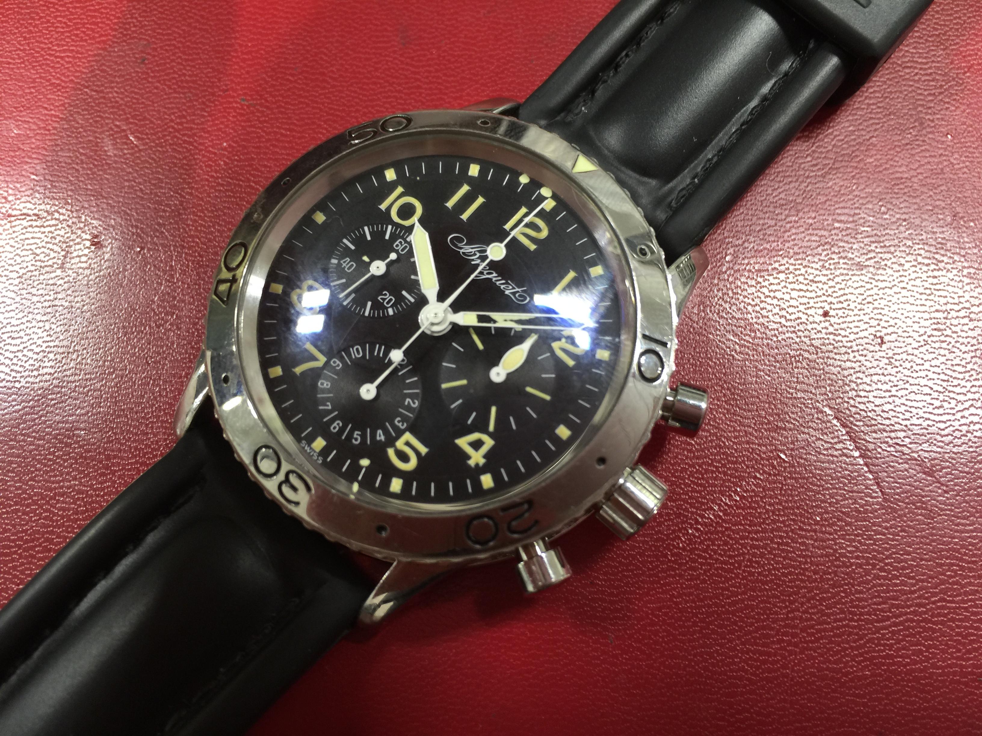 check out aa7d9 032e8 ブレゲ BREGUET TypeXX アエロナバル 3800ST | 時計の高価買取 ...