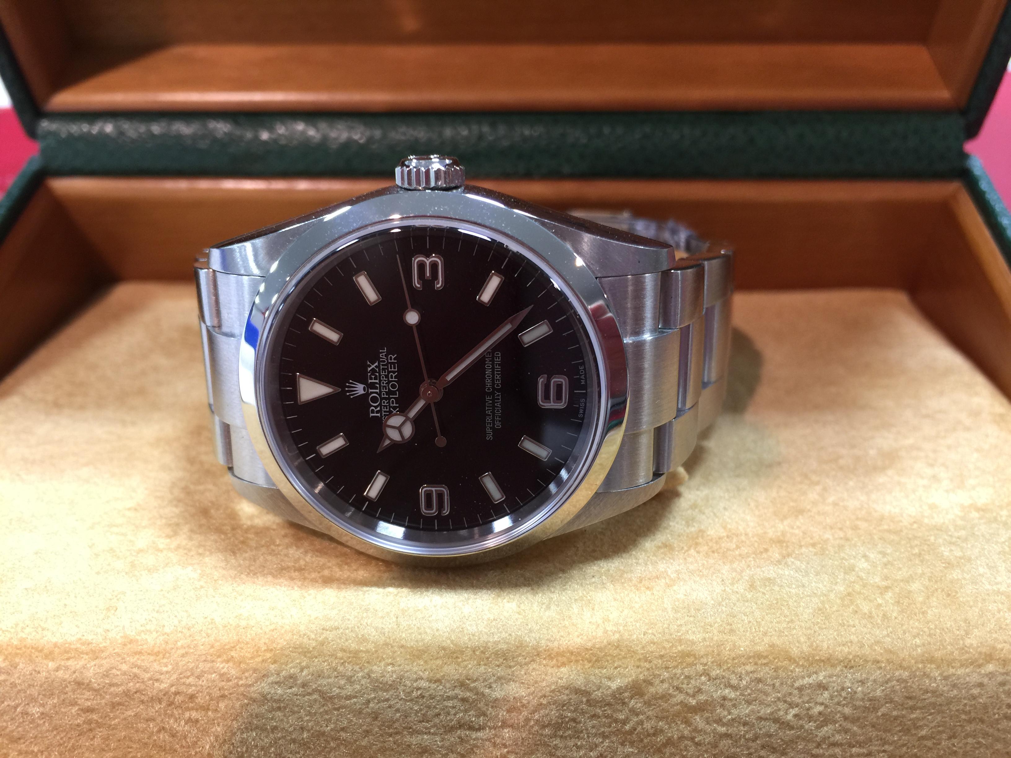 huge discount 99ac3 35fd2 ロレックス ROLEX エクスプローラー 114270 F番 | 時計の高価 ...