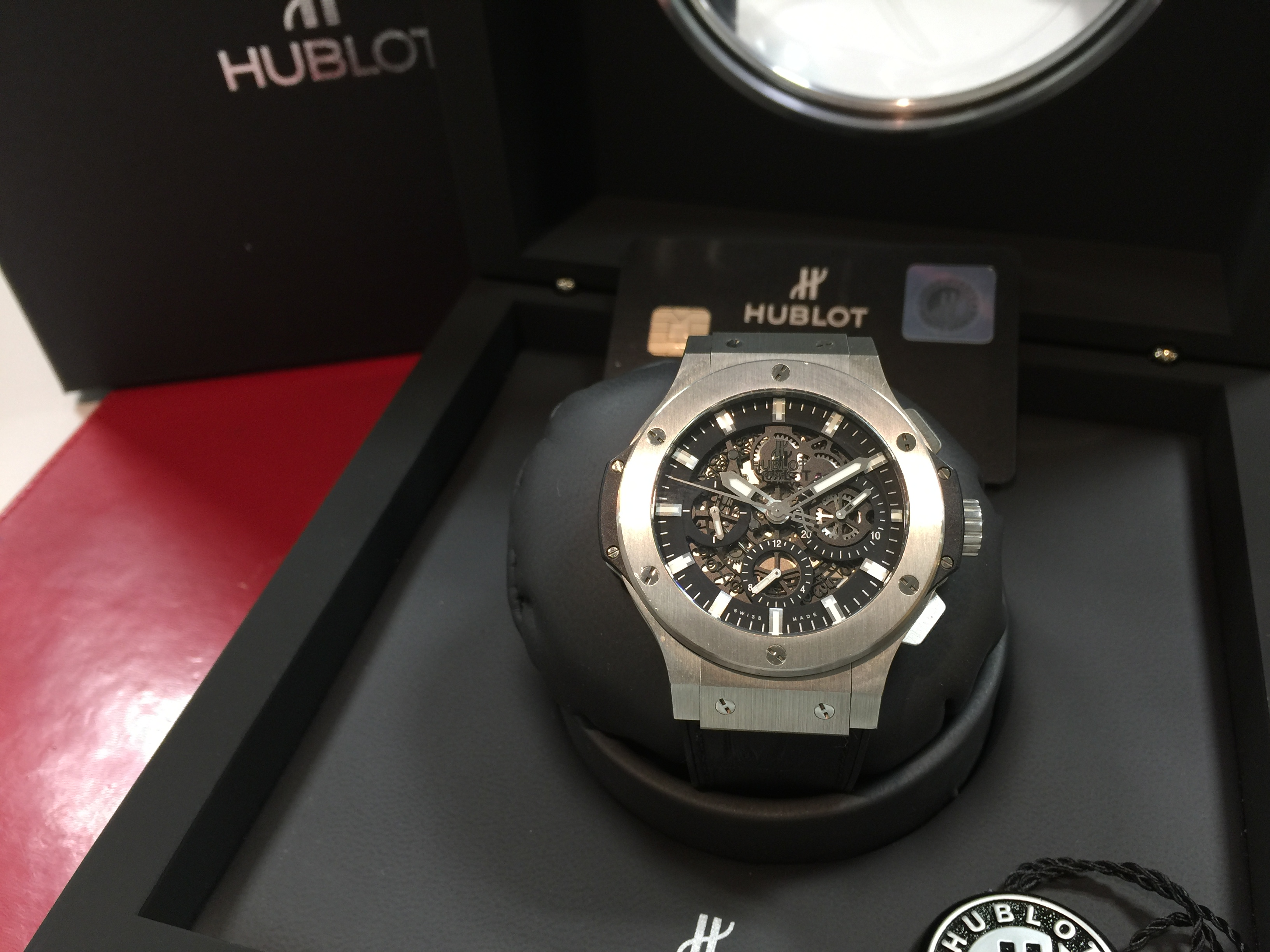 wholesale dealer 7f0b1 712f3 ウブロ HUBLOT ビッグバン アエロバン 311.SX.1170.GR | 時計の ...
