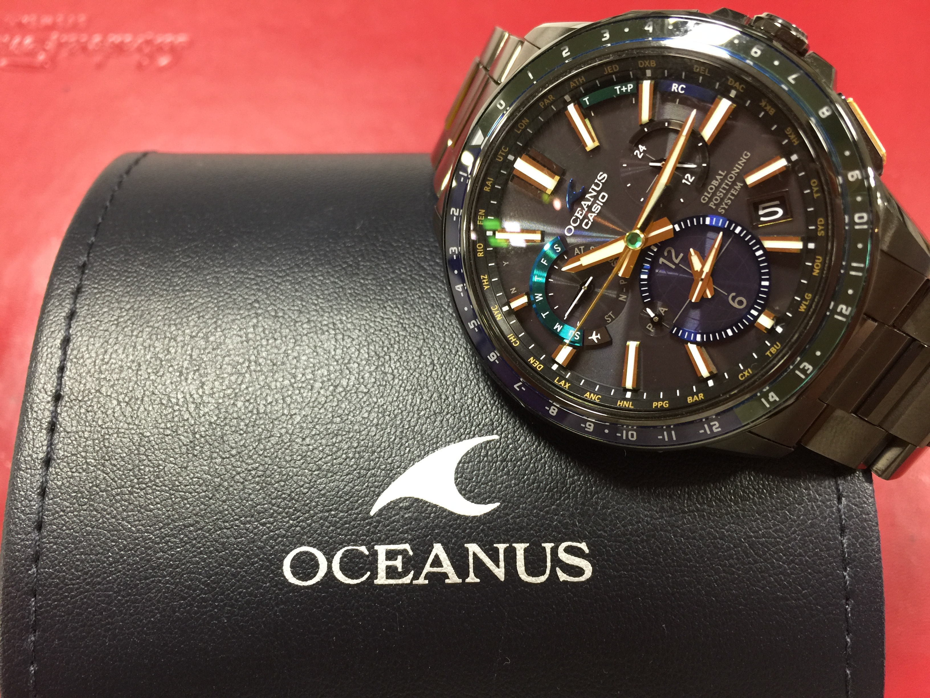45eb924038 カシオ CASIO オシアナス GPSソーラー OCW-G1100E-1AJF | 時計の高価買取 ...