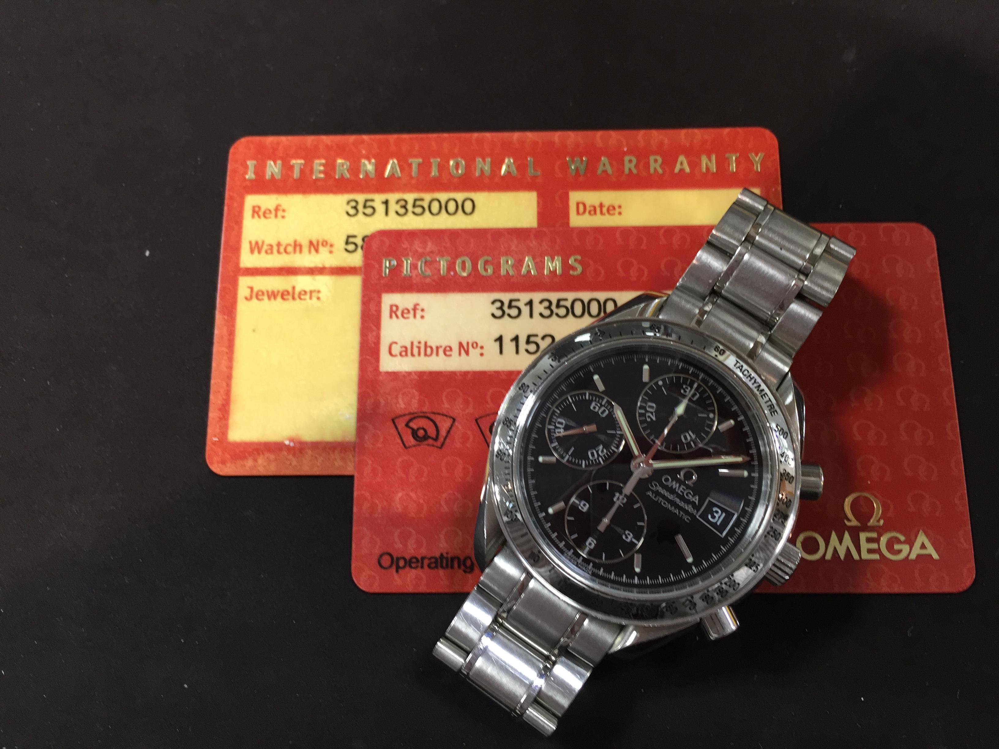 sale retailer f993e 7802f オメガ OMEGA スピードマスター 3513.50 | 時計の高価買取・無料 ...