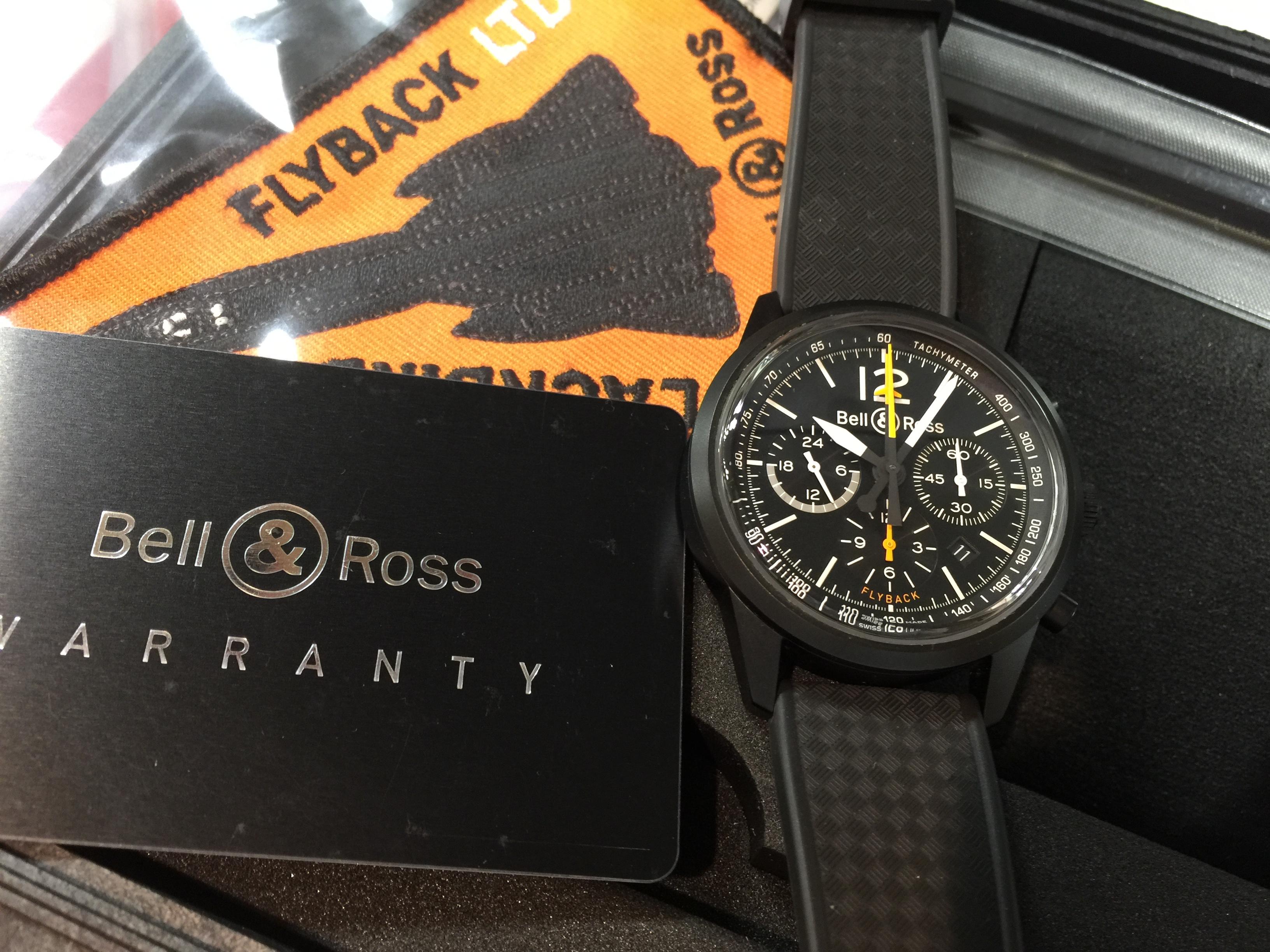 ベル&ロス Bell&Ross ブラックバード フライバッククロノ BR126