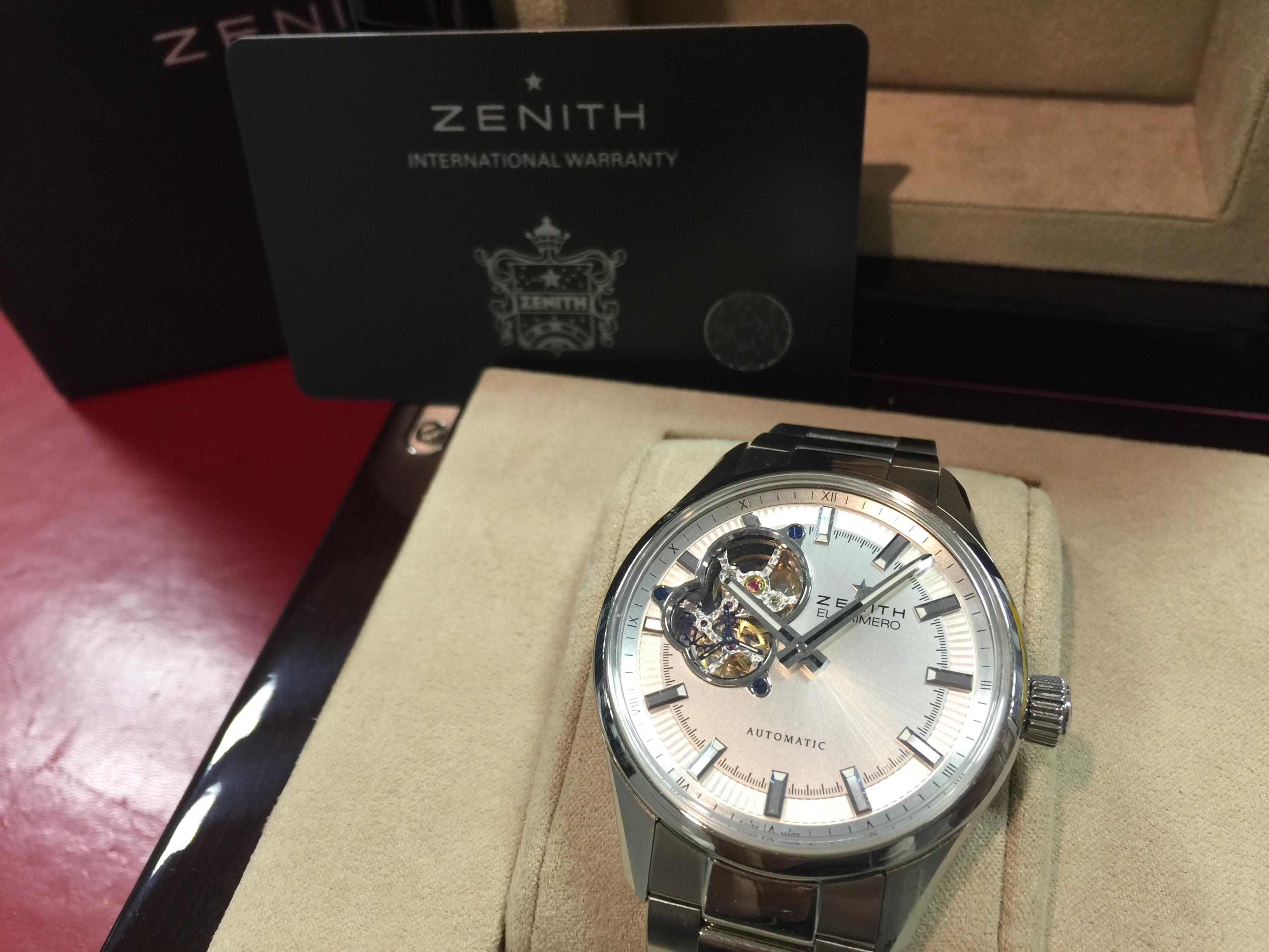 ゼニス ZENITH エルプリメロ シノプス 03.2170.4613/02.M2170