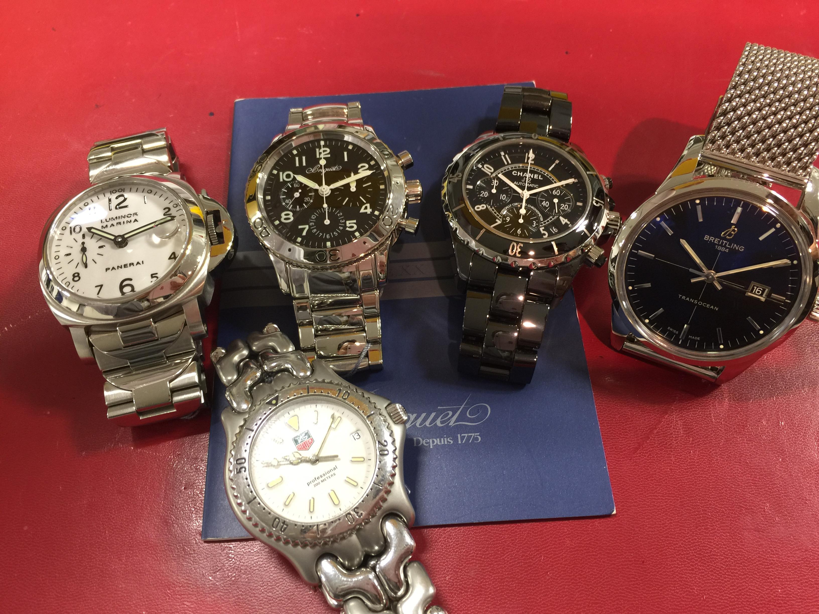 online retailer 790e4 dca4a ブレゲ BREGUET アエロナバル 3800ST , 他4本 | 時計の高価買取 ...