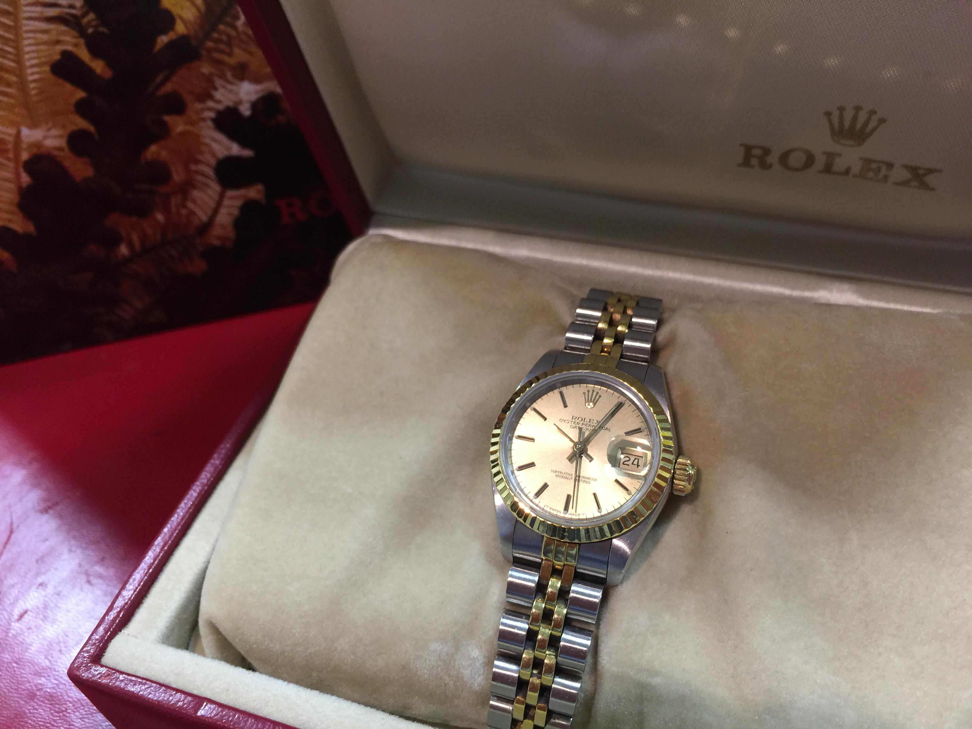 the best attitude 62156 4ae6e ロレックス ROLEX デイトジャスト 69173 | 時計の高価買取・無料 ...