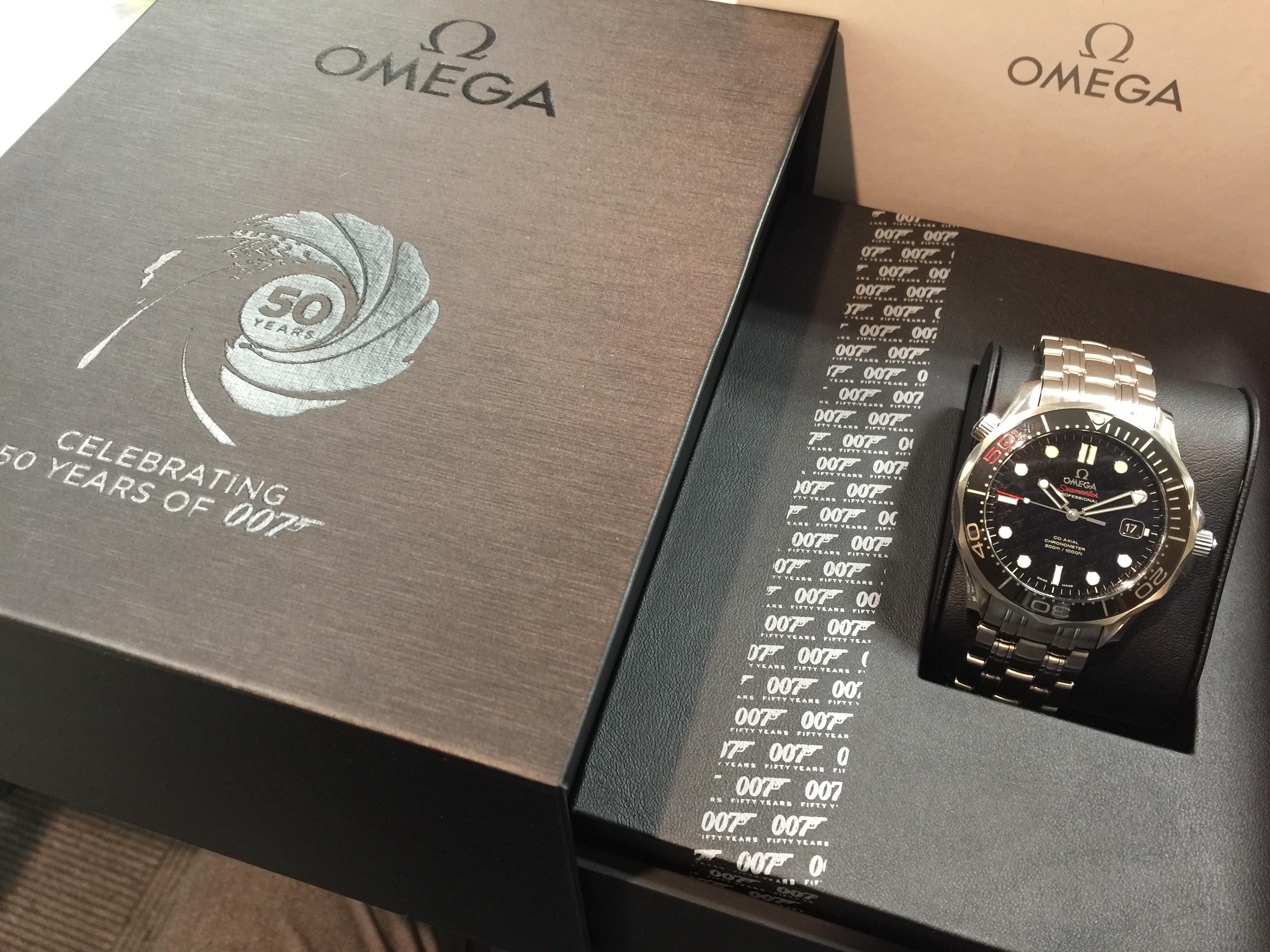 オメガ OMEGA シーマスター プロフェッショナル コーアクシャル 007ジェームズ・ボンド 世界限定11007本 212.30.41.20.01.005