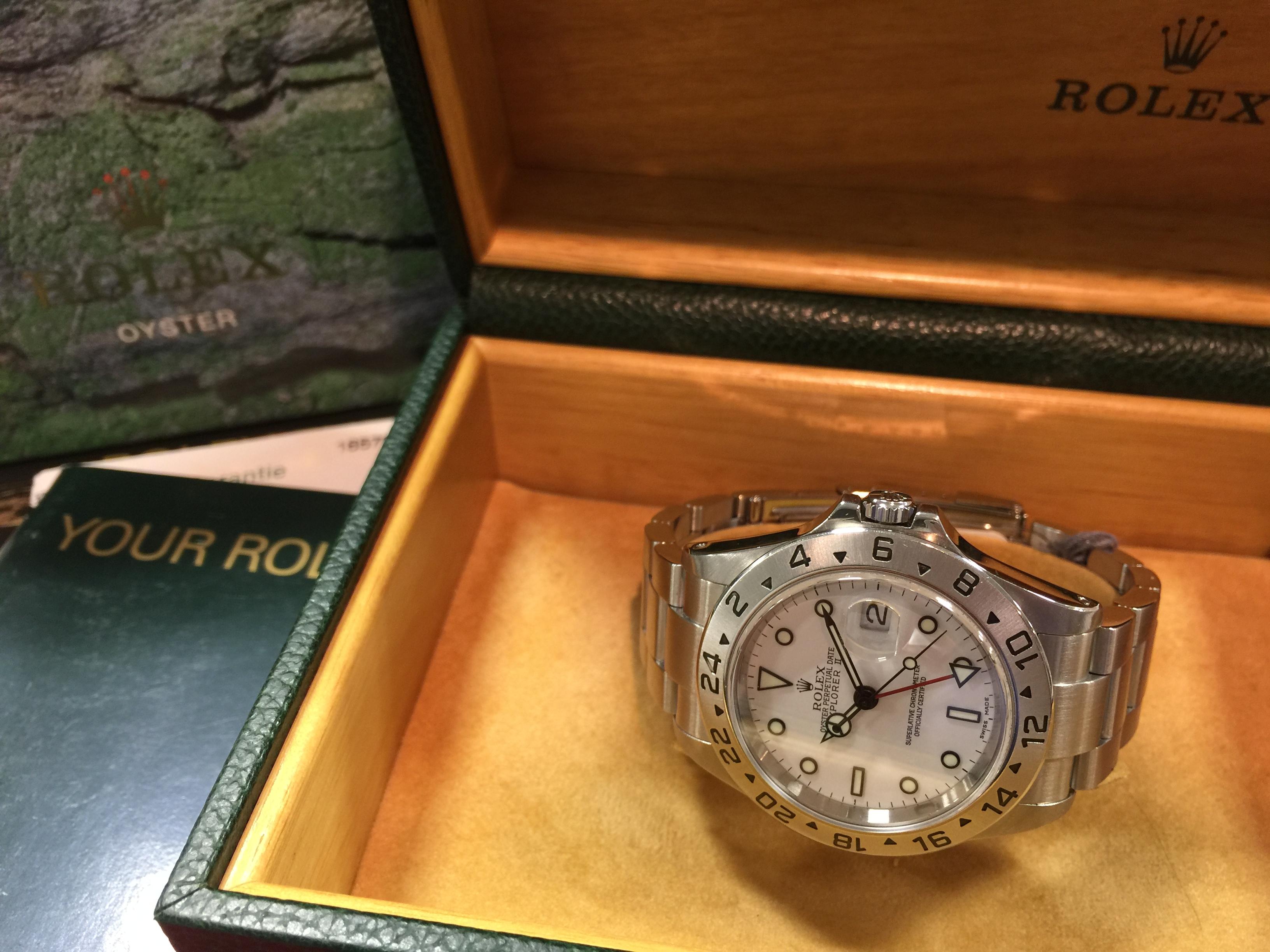 ロレックス ROLEX エクスプローラー2 16570 Y番