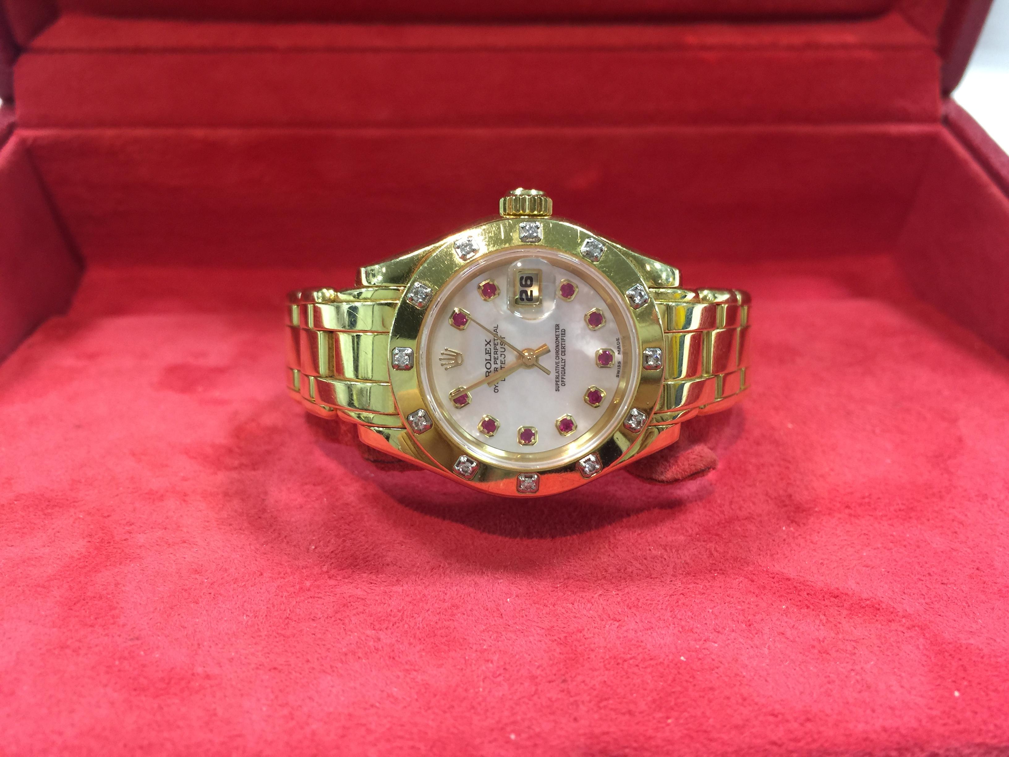 buy popular 7456c 7745b ロレックス ROLEX パールマスター 69318NGR | 時計の高価買取 ...