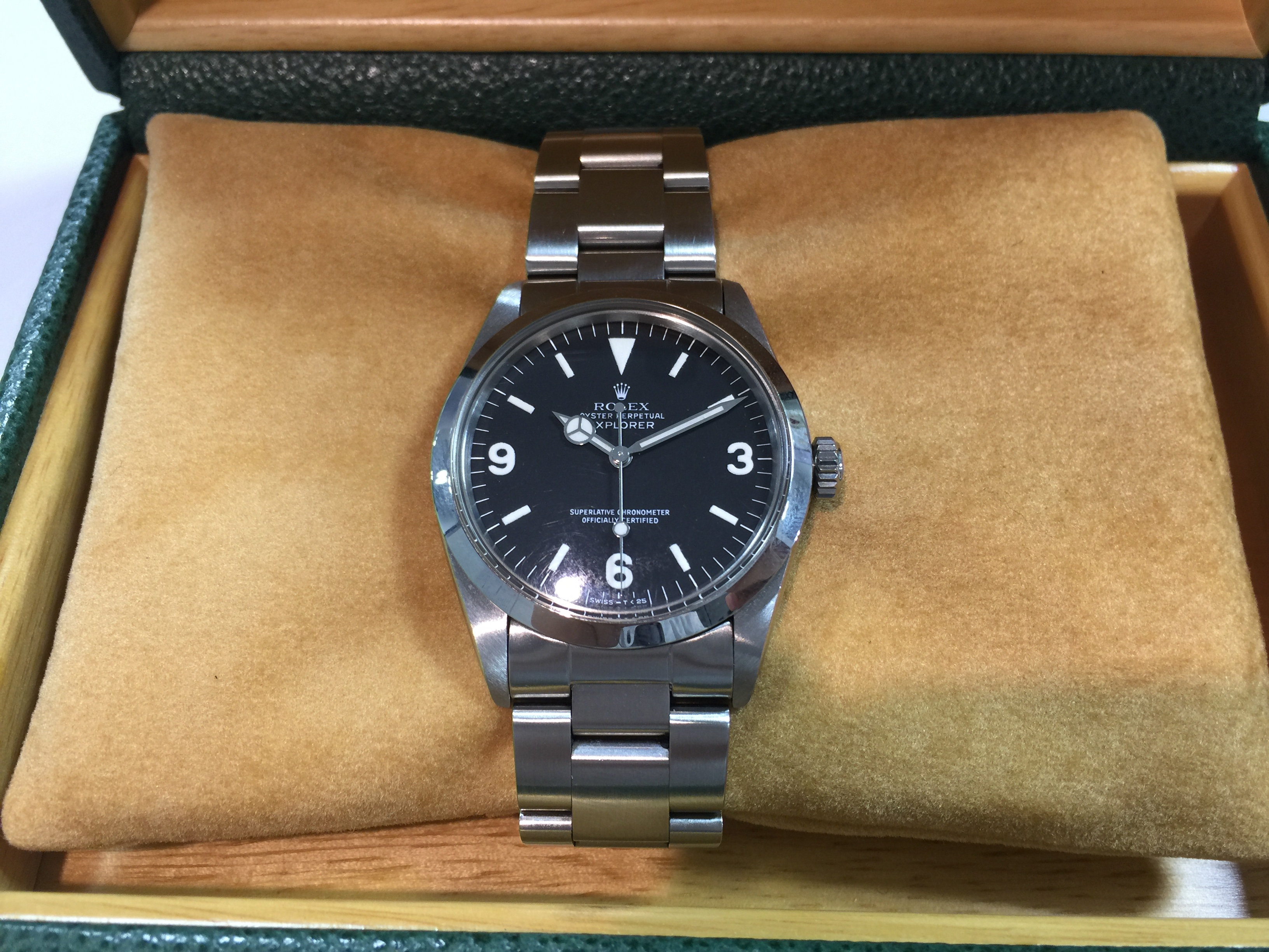online retailer cfa66 79a94 ロレックス ROLEX エクスプローラー1 1016 L番   時計の高価買取 ...