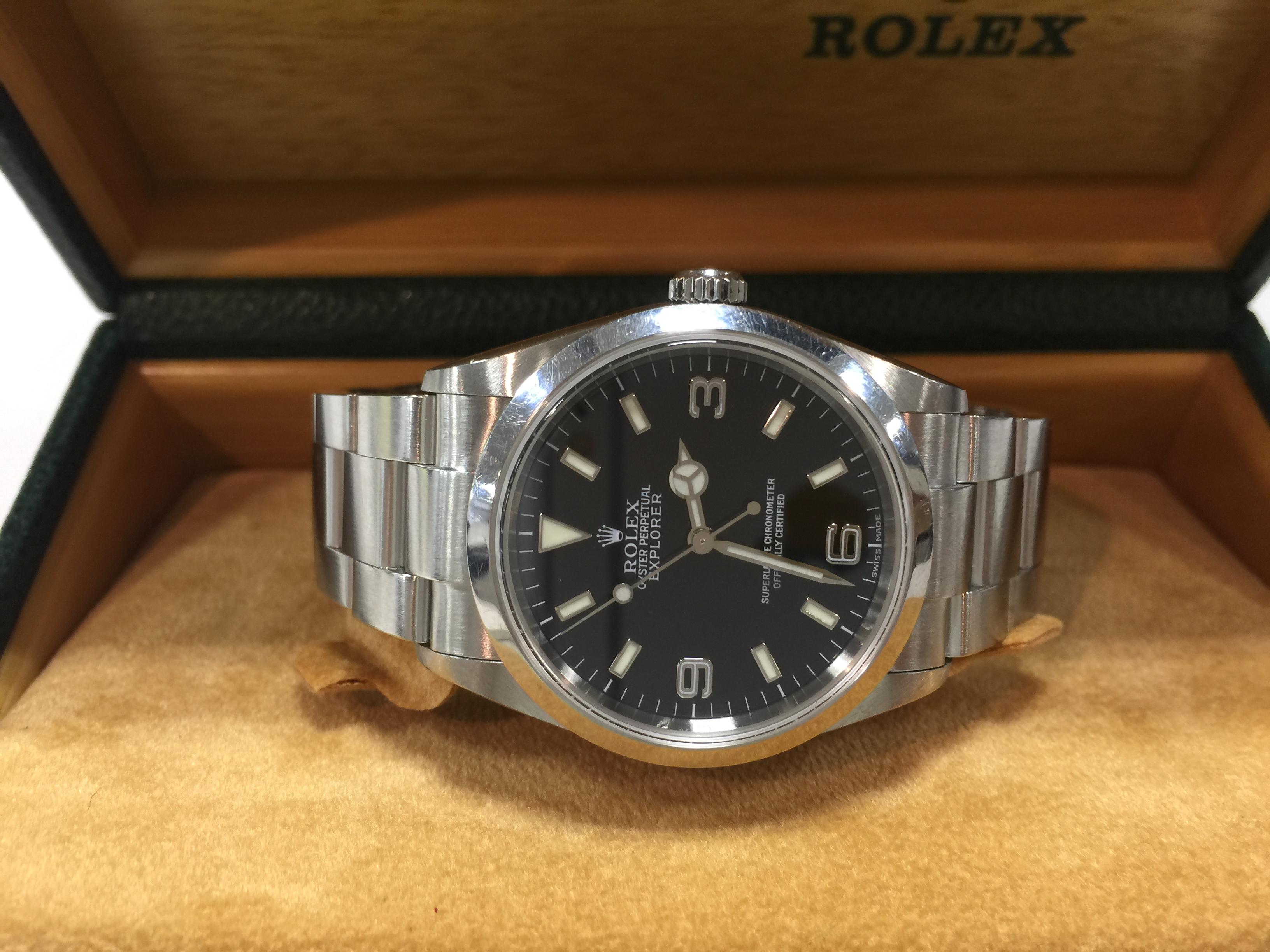 separation shoes 2bf32 77fb9 ロレックス ROLEX エクスプローラー 114270 Y番 | 時計の高価 ...