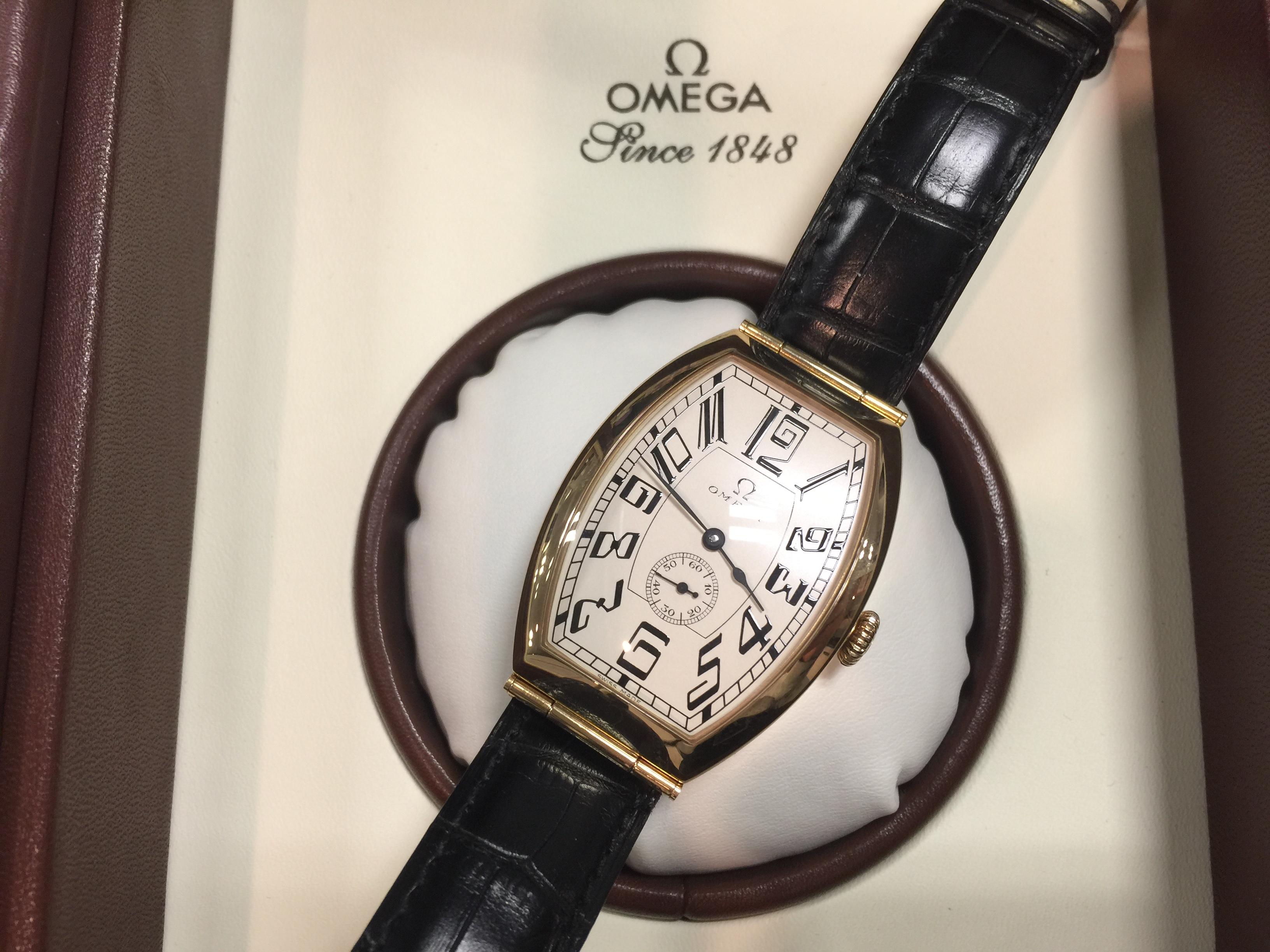 オメガ OMEGA ミュージアムコレクション ペドログラード1950 5703.30.01