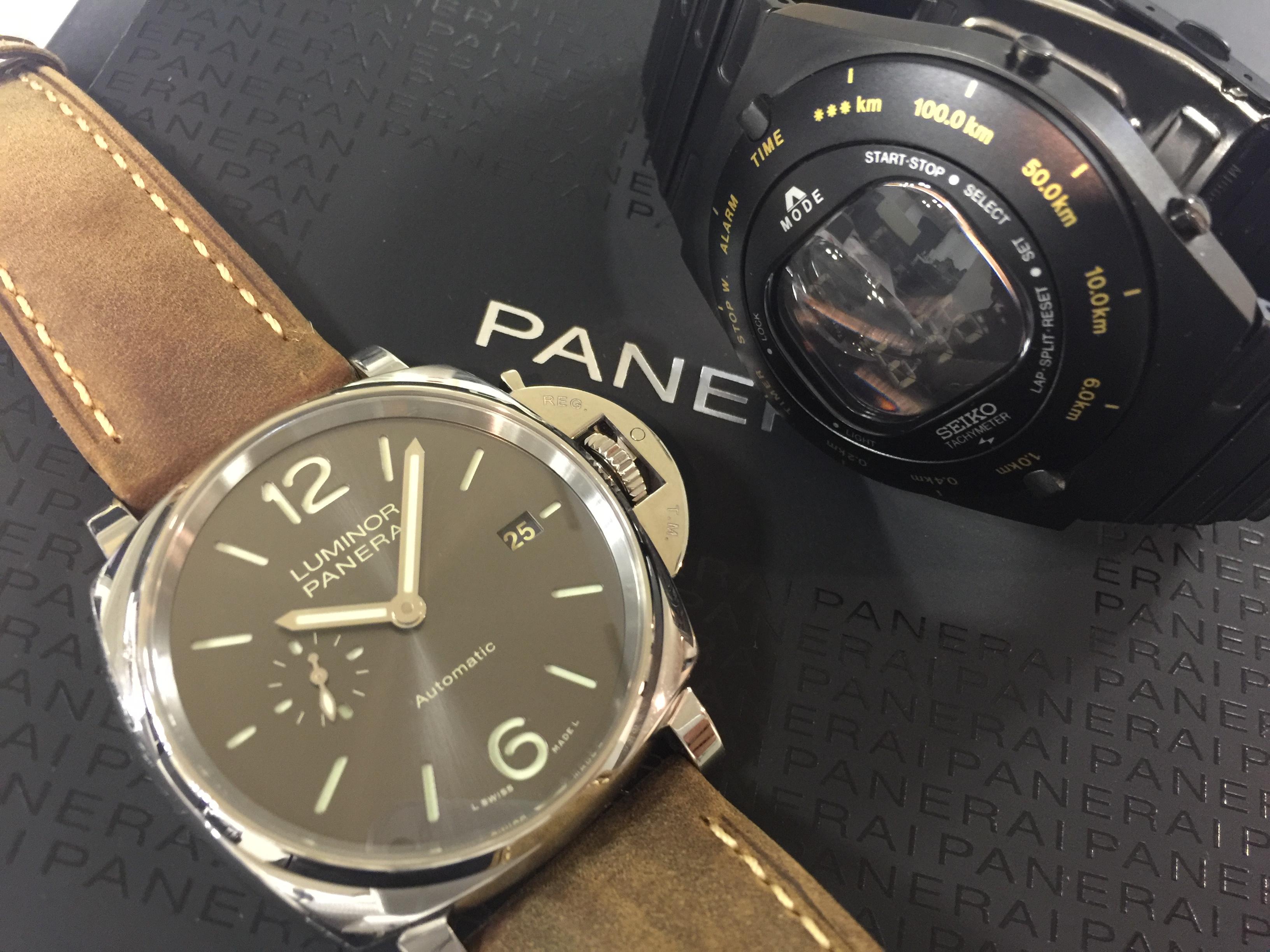 パネライ PANERAI PAM00904 , SEIKO ジウジアーロ限定バーニーズニューヨーク SBJG013