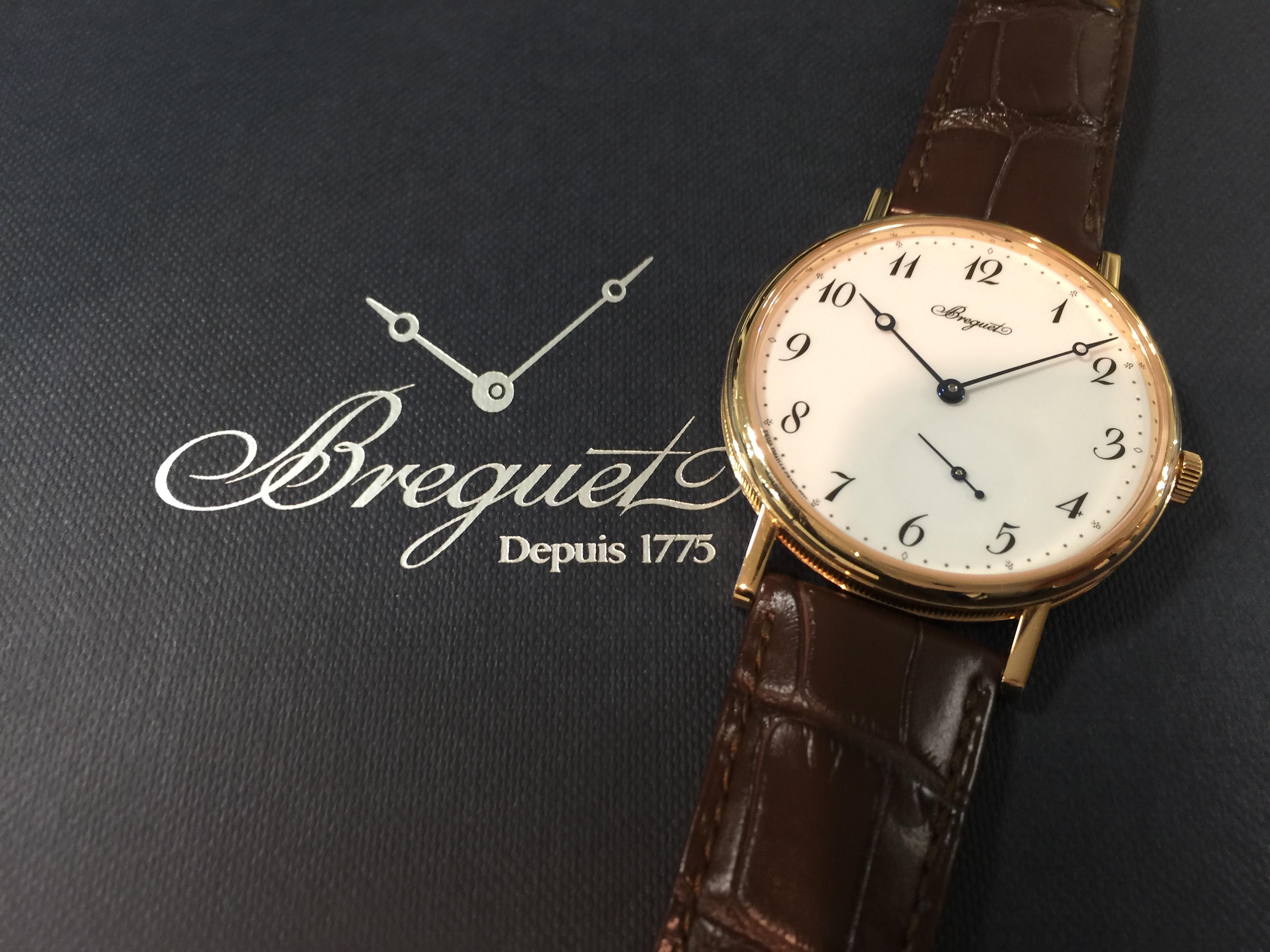 ブレゲ BREGUET クラシック 7147BR/29/9WU