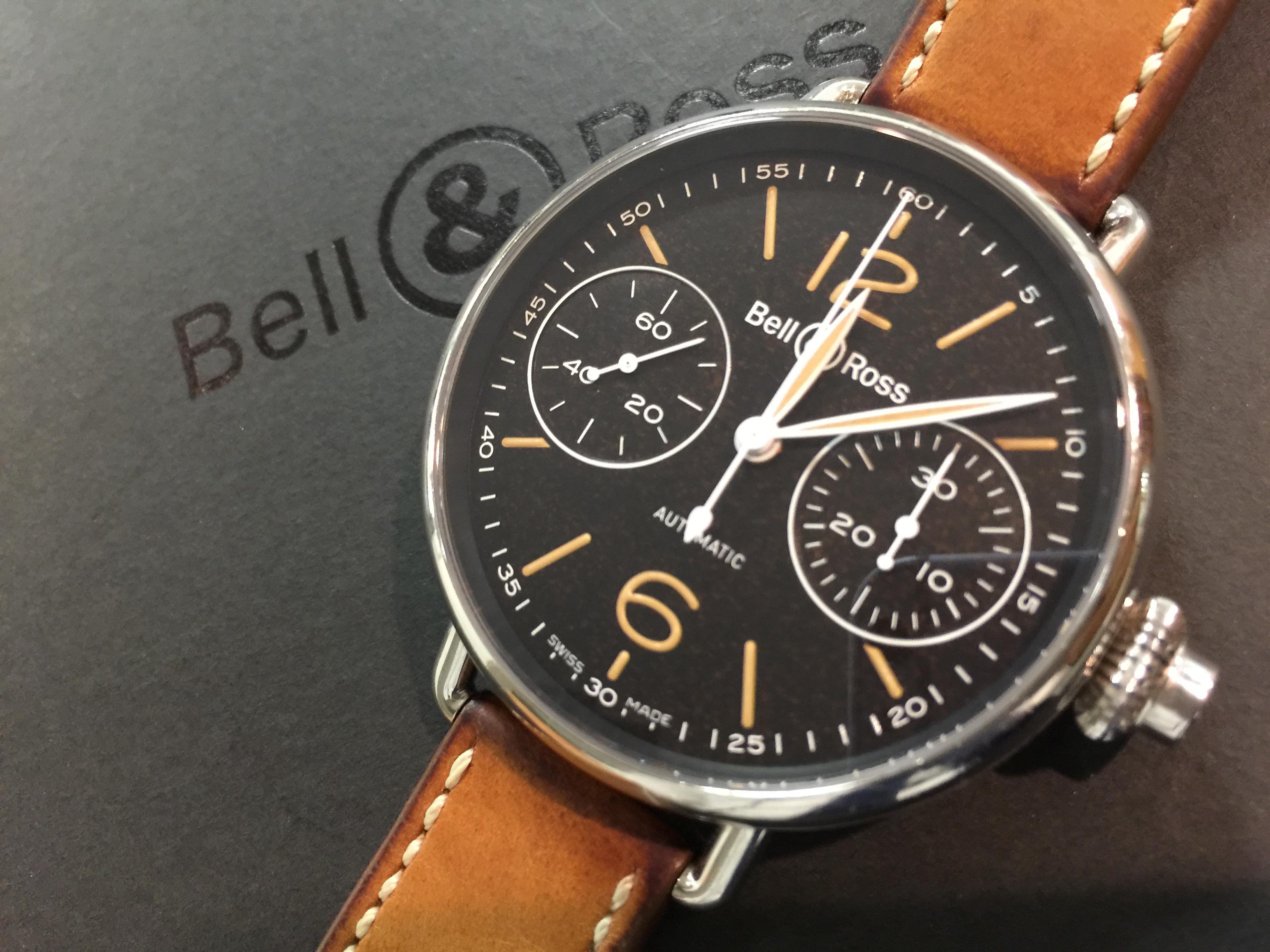 ベル&ロス Bell&Ross MONOPOUSSOIR HERITAGE BRWW1-MP01