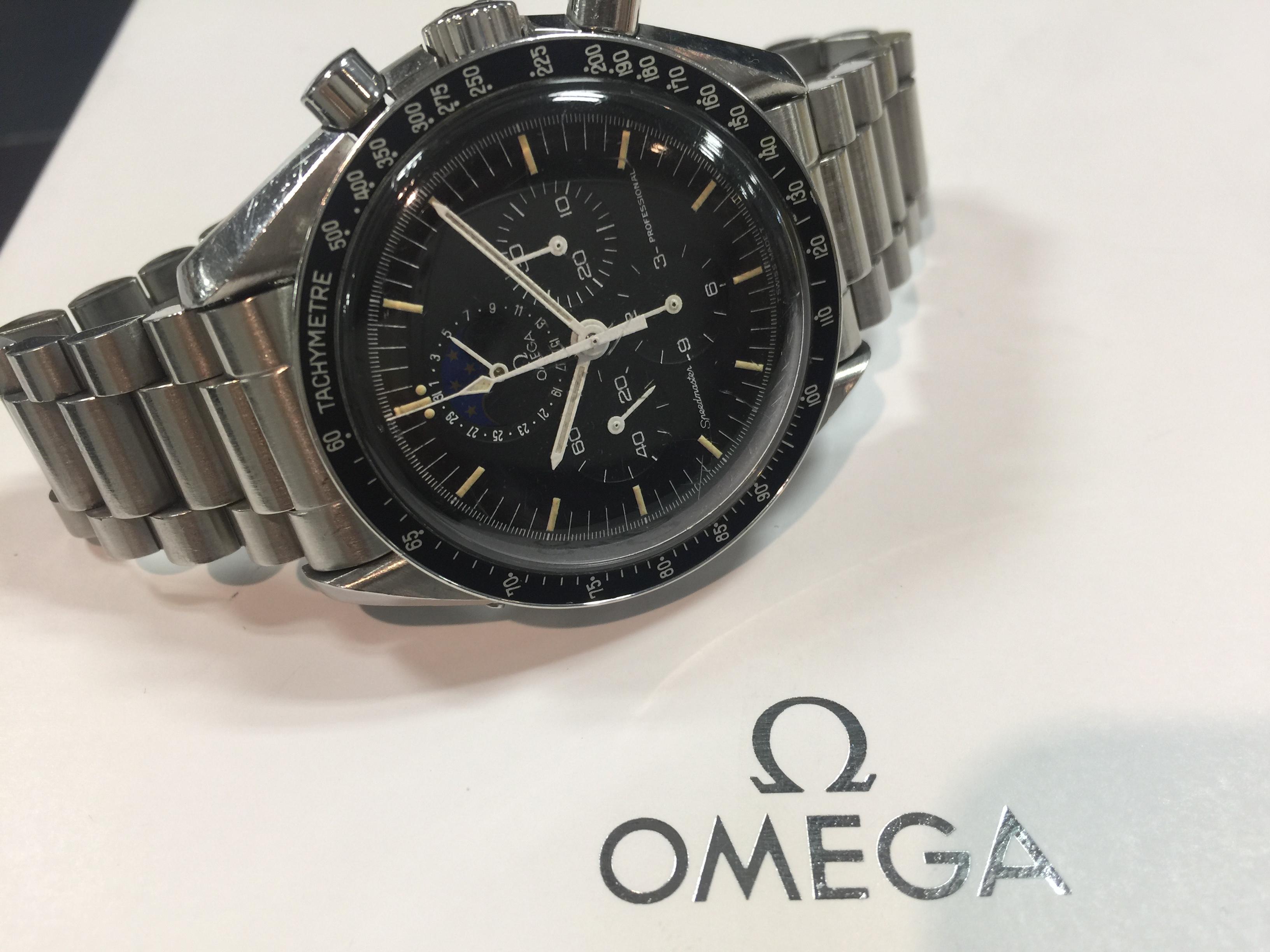 オメガ OMEGA スピードマスター プロフェッショナル ムーンフェイズ ST345.0809