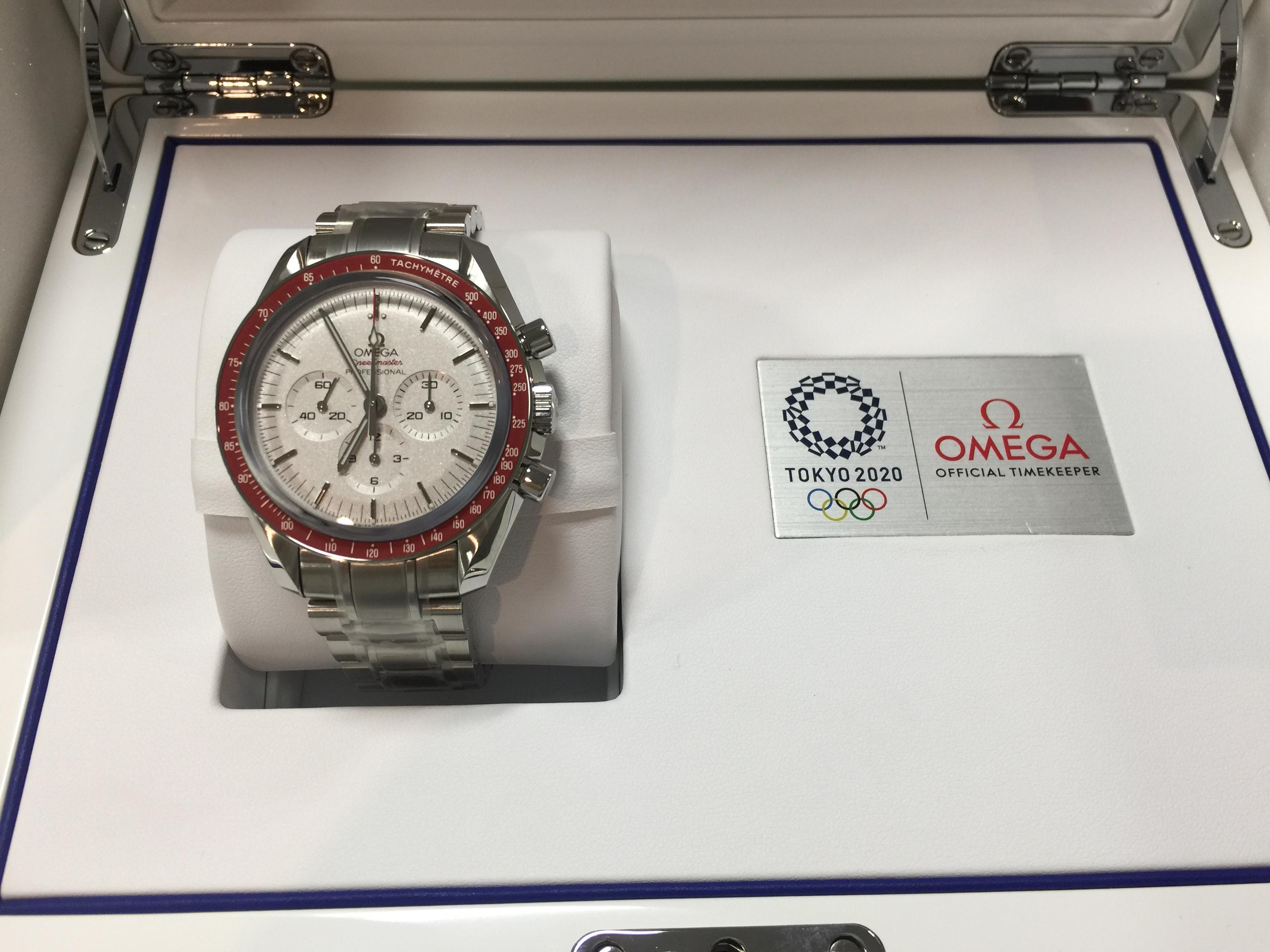 オメガ OMEGA スピードマスター プロフェッショナル 東京2020 522.30.42.30.06.001