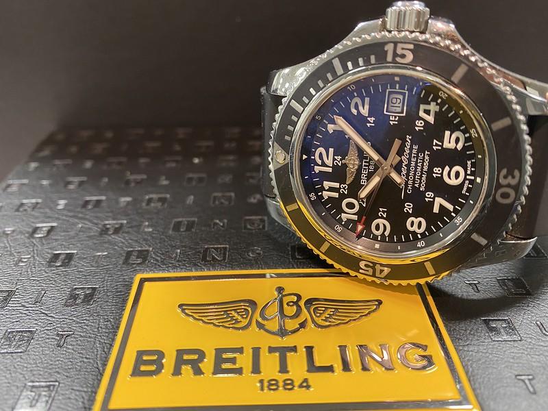 ブライトリング BREITLING スーパーオーシャンⅡ A17365