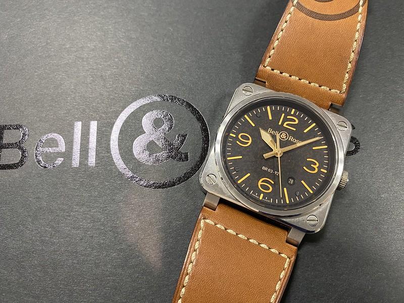 ベル&ロス Bell&Ross ゴールデンヘリテージ BR03-92-ST-G-HE