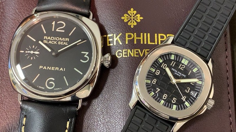 パテック フィリップ PATEK PHILIPPE アクアノート 5066/1A-010 , PANERAI ラジオミール APAM00183