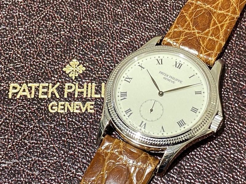 パテック フィリップ PATEK PHILIPPE カラトラバ 5115G-001