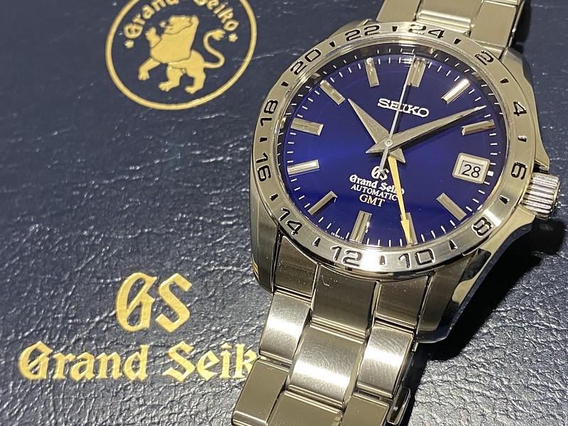 セイコー SEIKO GS GMT SBGM029