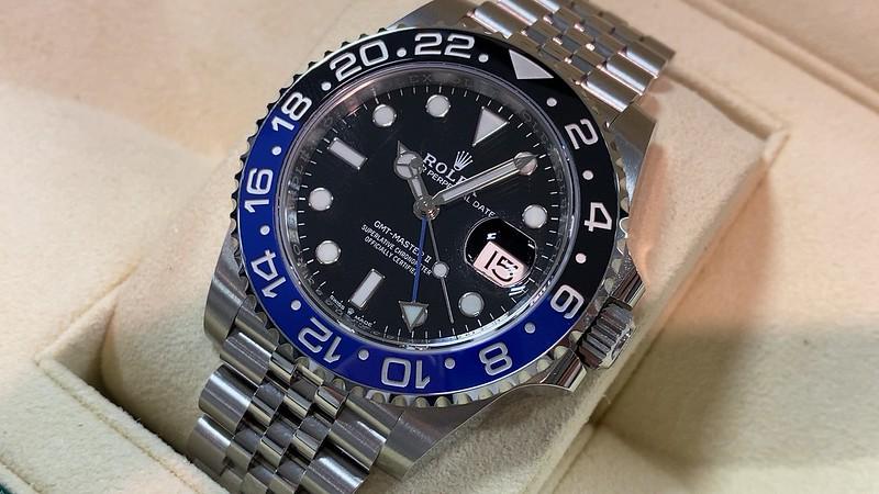ロレックス ROLEX GMTマスターⅡ 126710BLNR