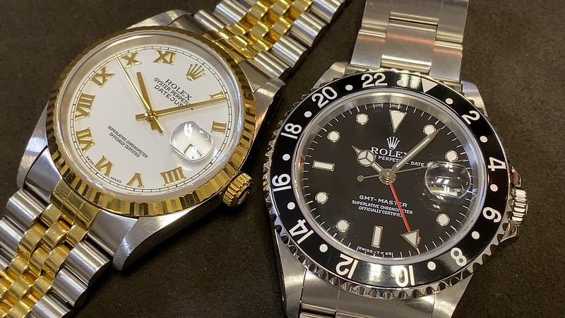 ロレックス ROLEX GMTマスター 16700 , デイトジャスト 16233