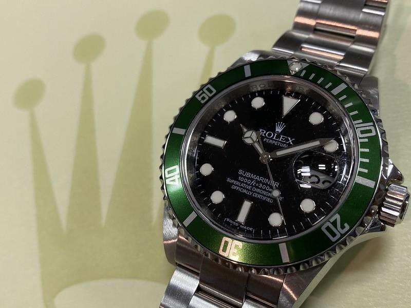 ロレックス ROLEX グリーンサブ 16610LV