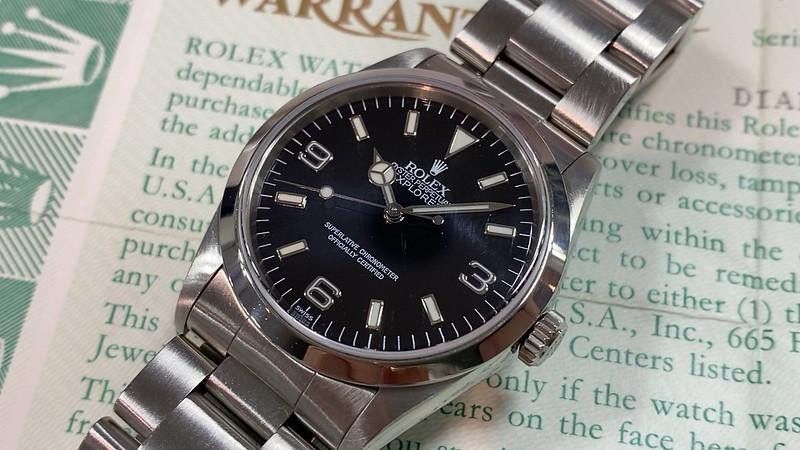 ロレックス ROLEX エクスプローラー1 14270 U番