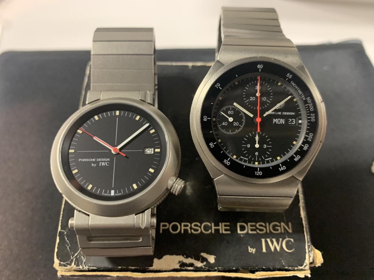 ポルシェデザイン PORSCHE DESIGN by IWC コンパスウォッチ 3511-001 , クロノグラフ 3700