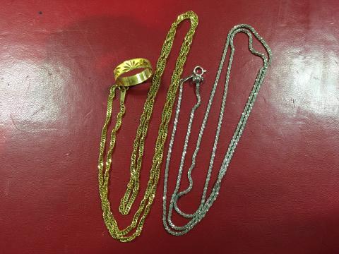 貴金属 K18 ネックレス