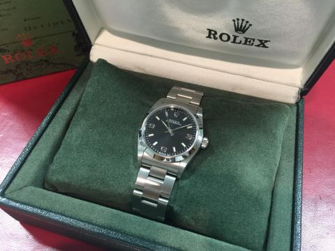 ロレックス ROLEX オイスターパーペチュアル 77080 P番