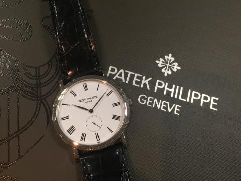 パテック フィリップ PATEK PHILIPPE カラトラバ 手巻 5119G-001