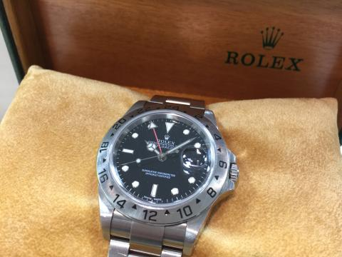 ロレックス ROLEX エクスプローラーⅡ 16570 P番
