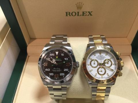 ロレックス ROLEX デイトナ 116523 , エアキング 116900