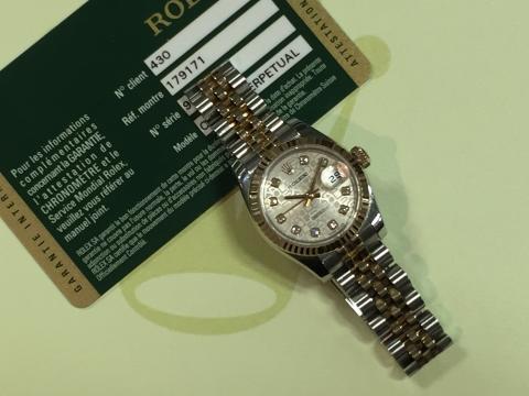ロレックス ROLEX デイトジャスト 179171G ランダム