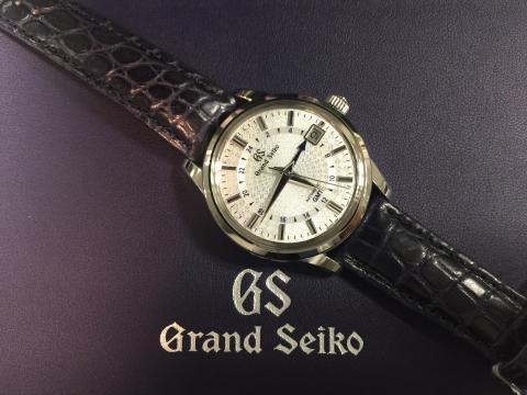 セイコー SEIKO グランドセイコーGMT SBGM235 9S66-00F0