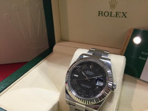 ロレックス ROLEX デイトジャストⅡ 116334 ランダム